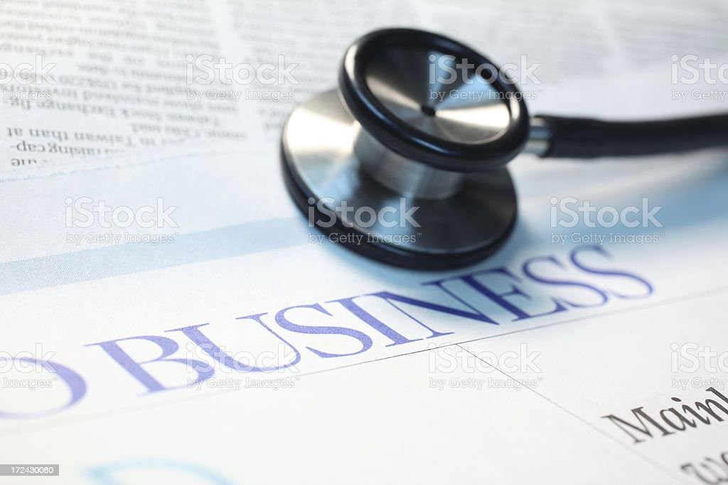 Business Diagnosis stock photo