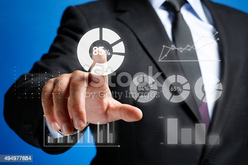 istock Business Diagram on Whiteboard 494977684
