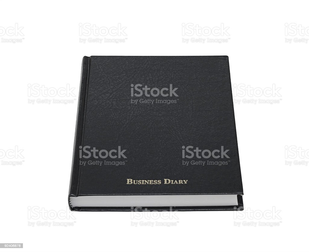 Business Diary royalty-free stock photo