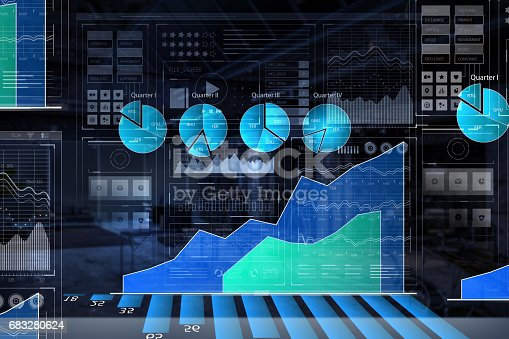 istock Business digital infographs 683280624