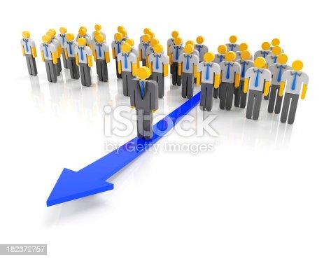 1007383644istockphoto Business direction 182372757