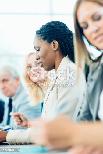 1087253494 istock photo Business Discussion in meeting 475905123