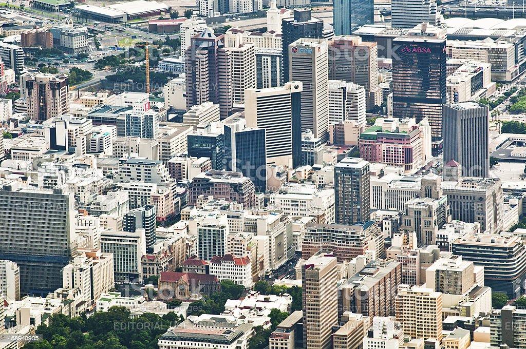 Geschäftsviertel Cape Town – Foto