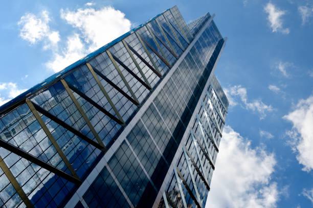 Business District in Philadelphia, Pennsylvania stock photo