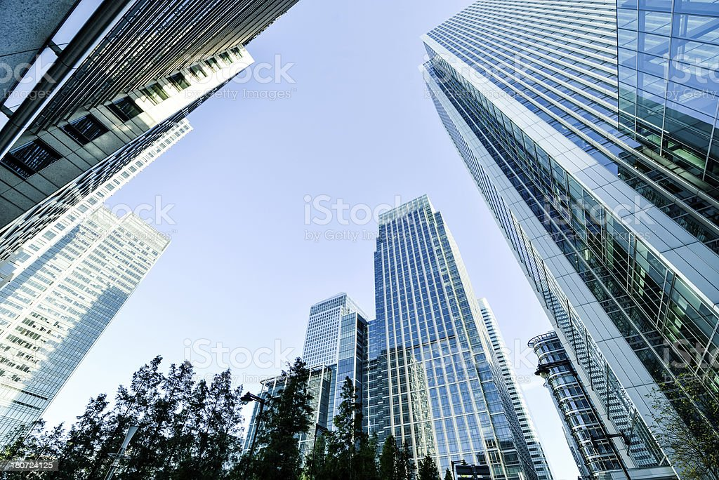 Business District stock photo