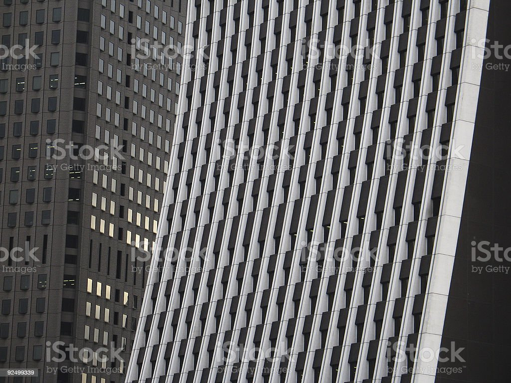Business district: Shinjuku, Tokyo, Japan royalty-free stock photo