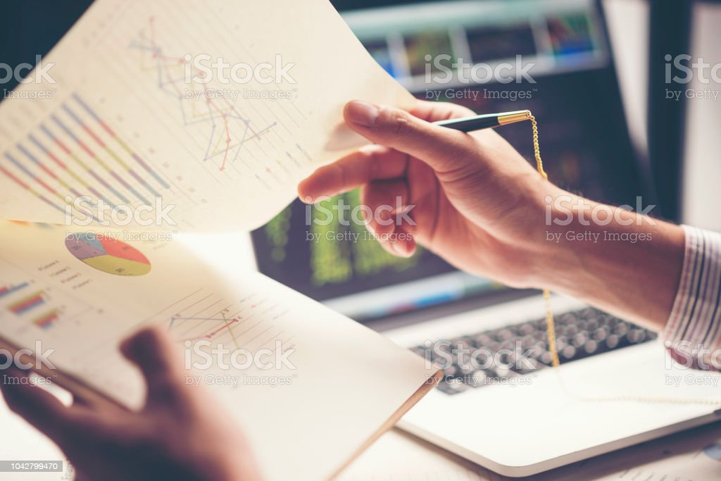 business documentation, business success concept