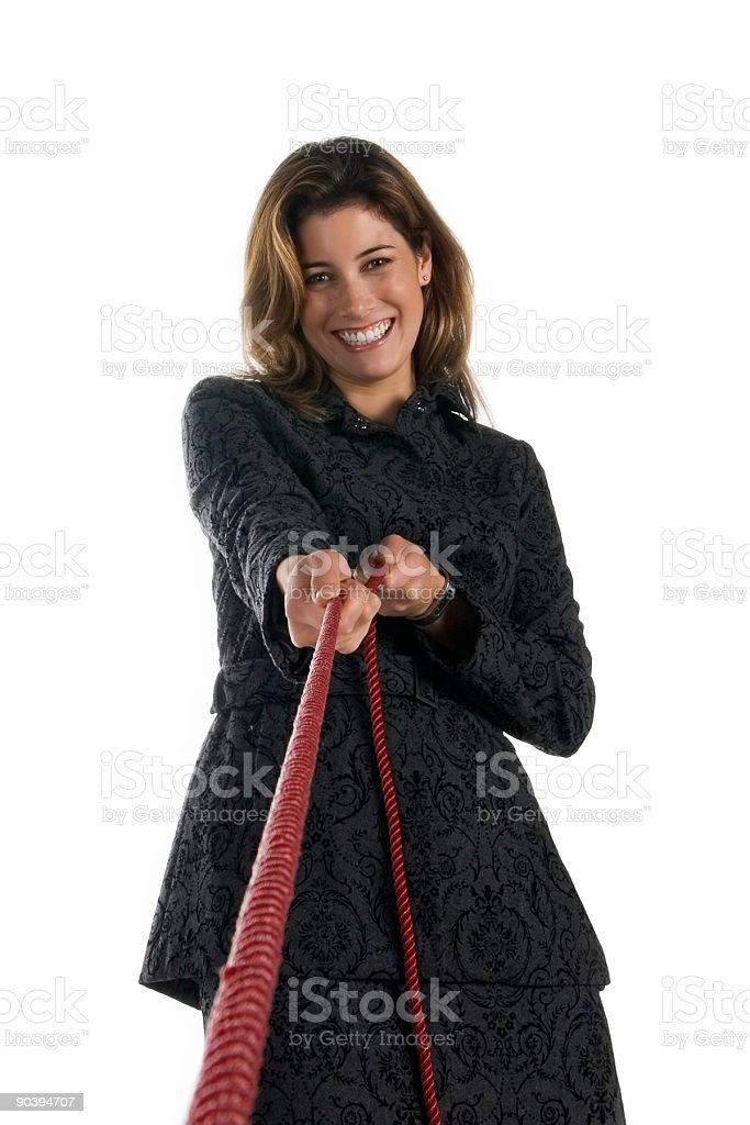 Business: drawing you in stock photo