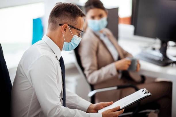 Business during epidemic stock photo stock photo