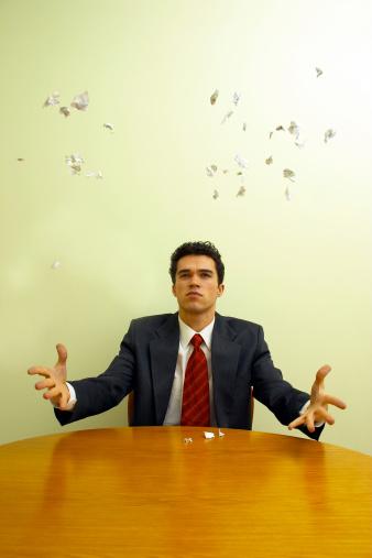 690496350 istock photo Business emotions - Irritation #2 181120158