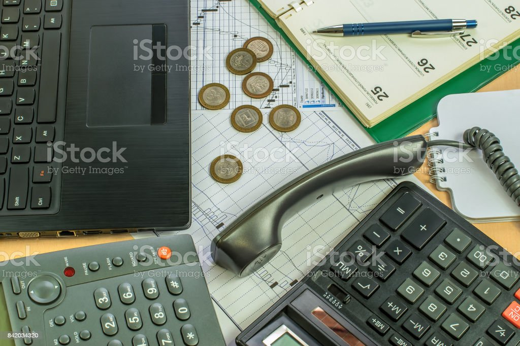 business environment in the office stock photo