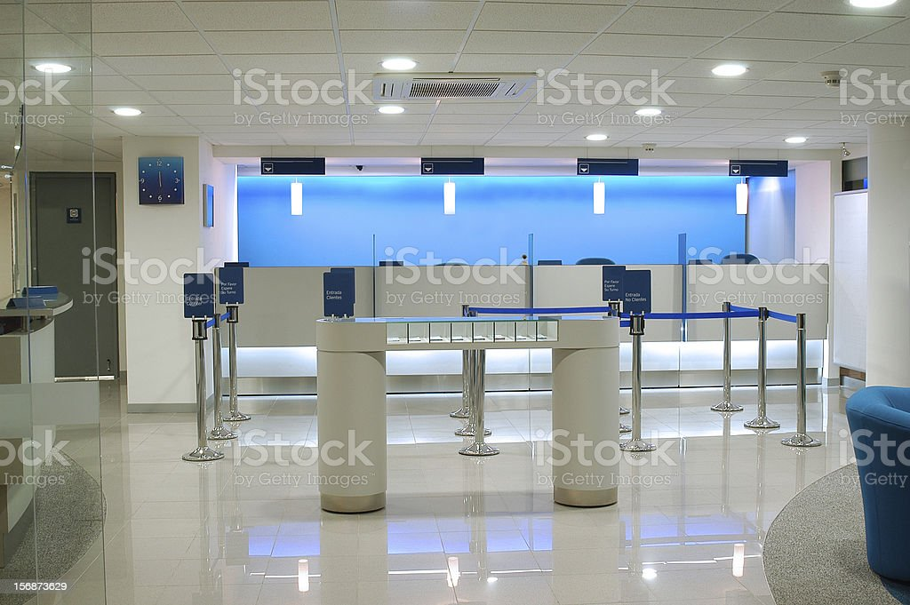 Business establishment. stock photo