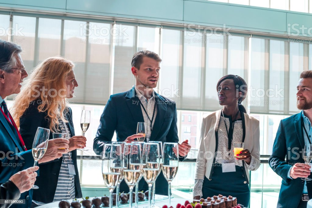 Business event stock photo
