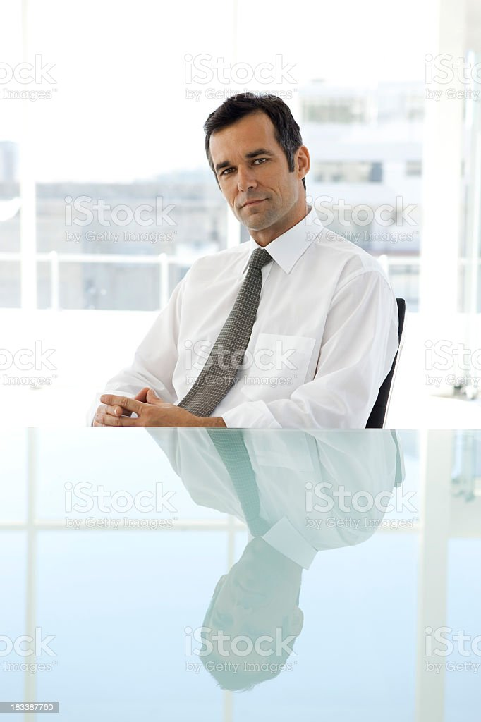 Business Executive Officer stock photo