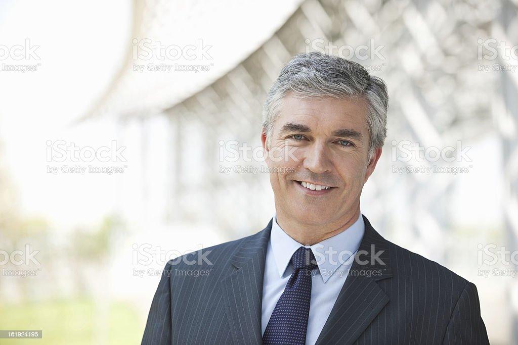 Business Executive Smiling stock photo