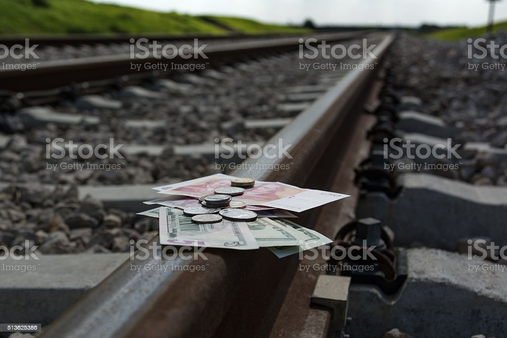 Business expense and reimbursement stock photo