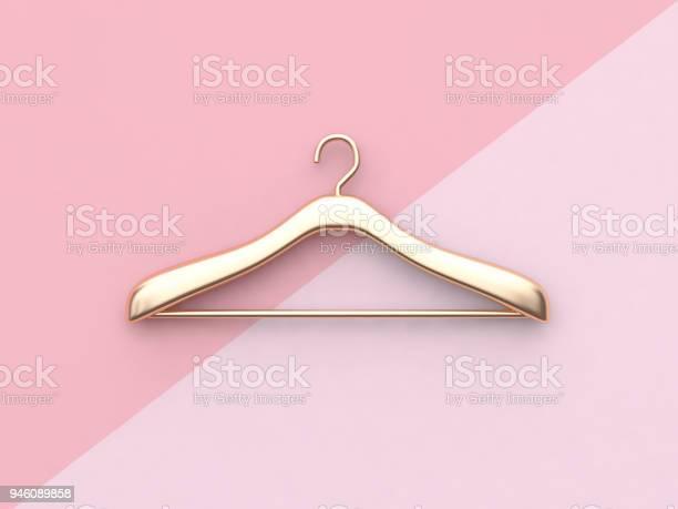 Business fashion concept gold cloth hanger minimal pink background 3d picture id946089858?b=1&k=6&m=946089858&s=612x612&h=gvygmueaytit4q2xabwgl wxntkxht0iwxnhlcrmqw0=