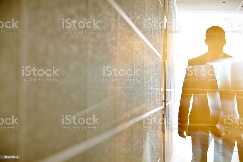 Business figure stock photo