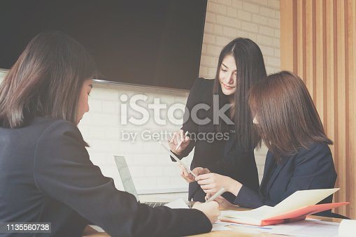 950986656istockphoto Business Finance, accounting, contract, advisor investment consulting marketing plan for the company with using tablet and computer technology in analysis. 1135560738