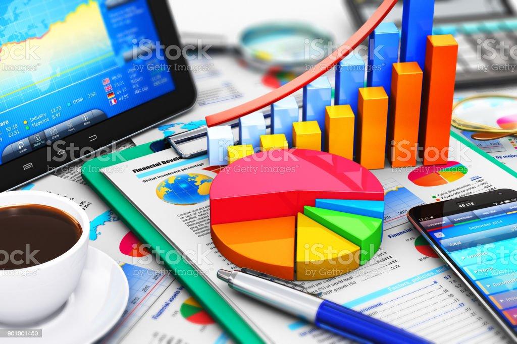 Business, Finanzen und Rechnungswesen-Konzept – Foto