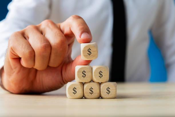Business Finance und Economy Konzept – Foto