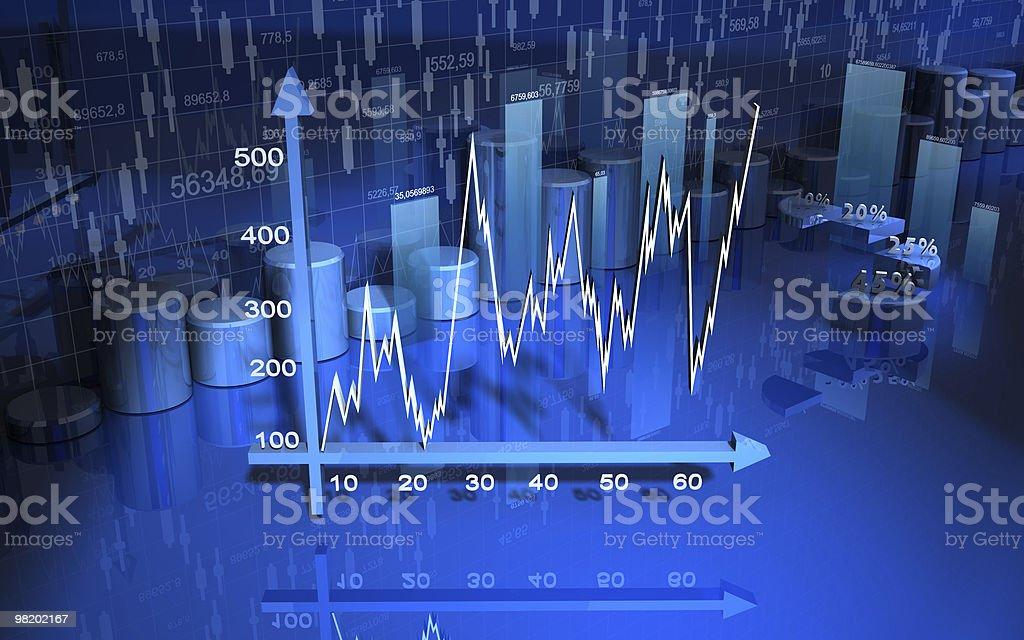 Grafico di finanza aziendale, grafico, diagramma foto stock royalty-free