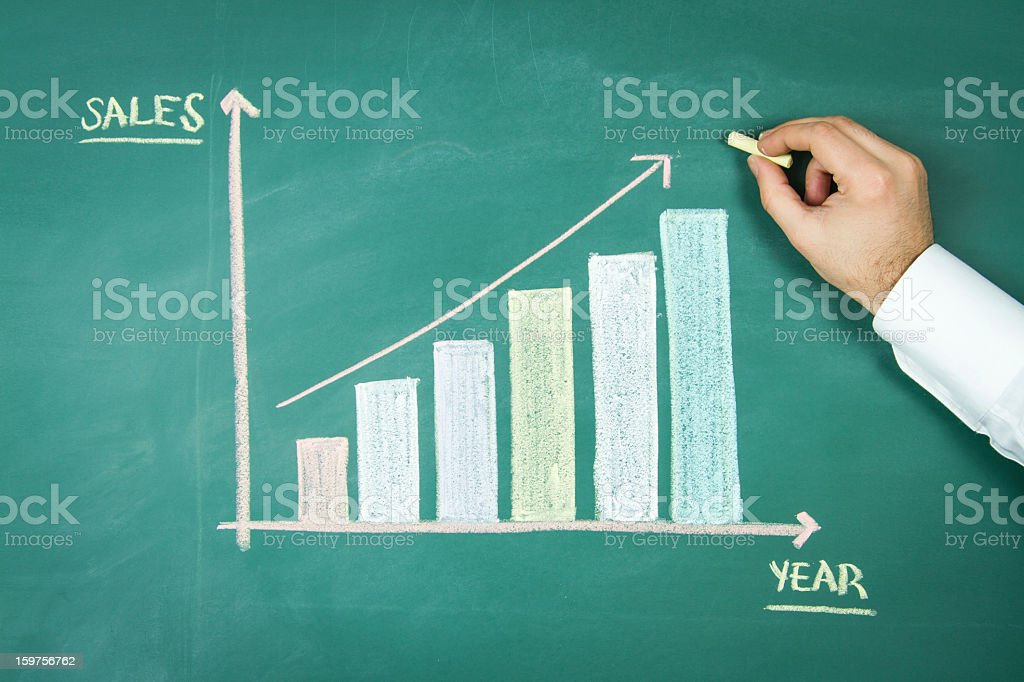 Business Finance Strategy royalty-free stock photo