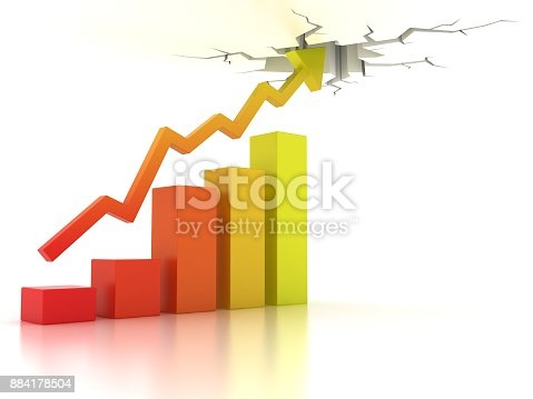 511722788istockphoto Business financial growth abstract 3d illustration 884178504