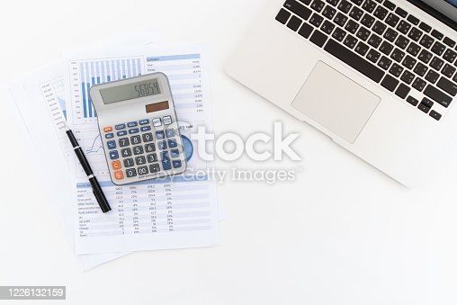 849046214 istock photo business financial report 1226132159