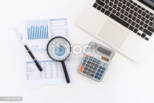 849046214 istock photo business financial report 1226132162