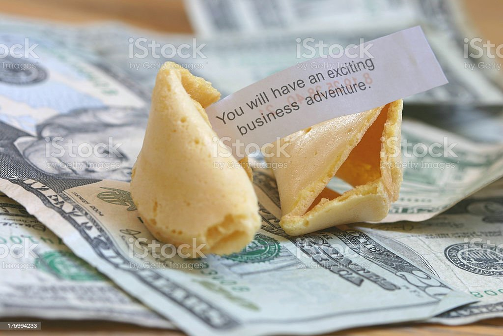 Business fortune royalty-free stock photo