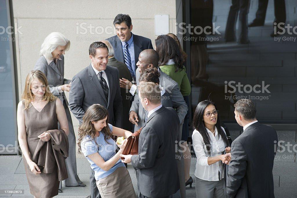 Business Frenzy stock photo