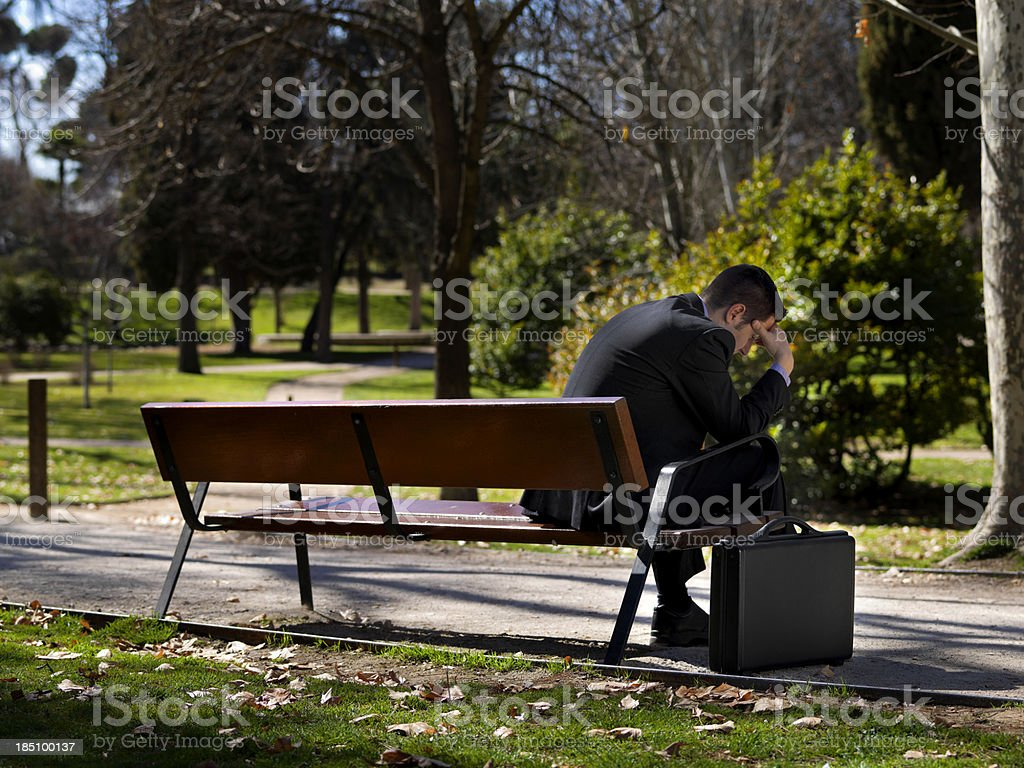 Business - Frustration stock photo