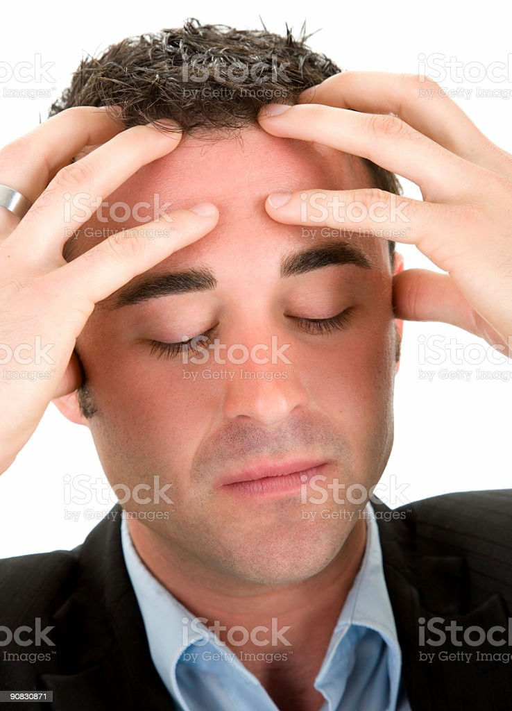 Business Frustrations stock photo