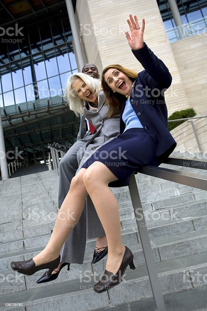 business fun royalty-free stock photo