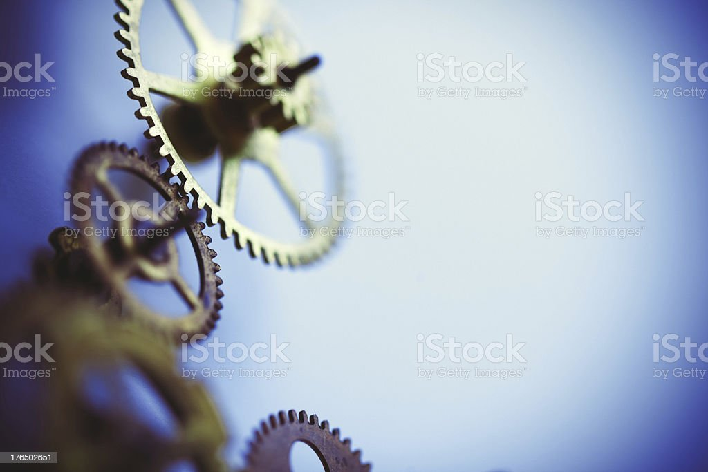 business gear background royalty-free stock photo