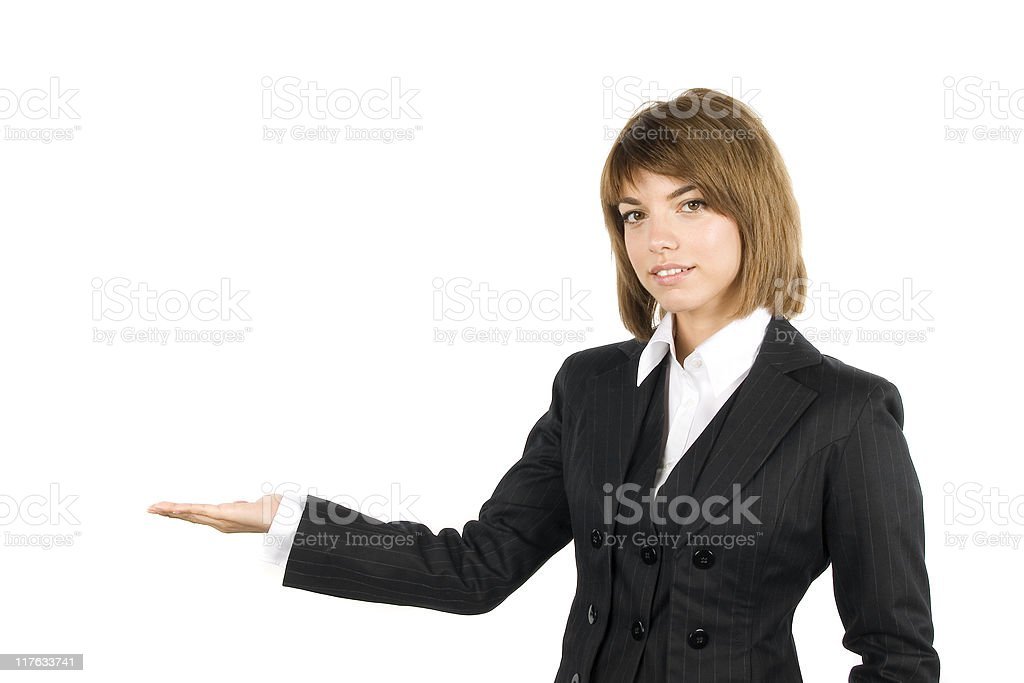 Business girl series royalty-free stock photo