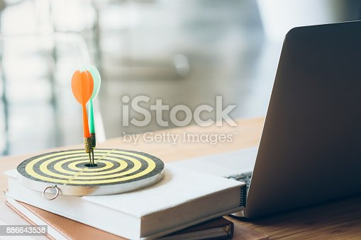 istock Business Goal setting and Planing Strategy concept. 886643538
