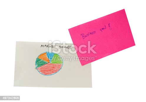 875531516istockphoto Business goal, with hand writing graph 497342805