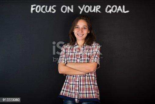istock Business Goals Concept 912223060