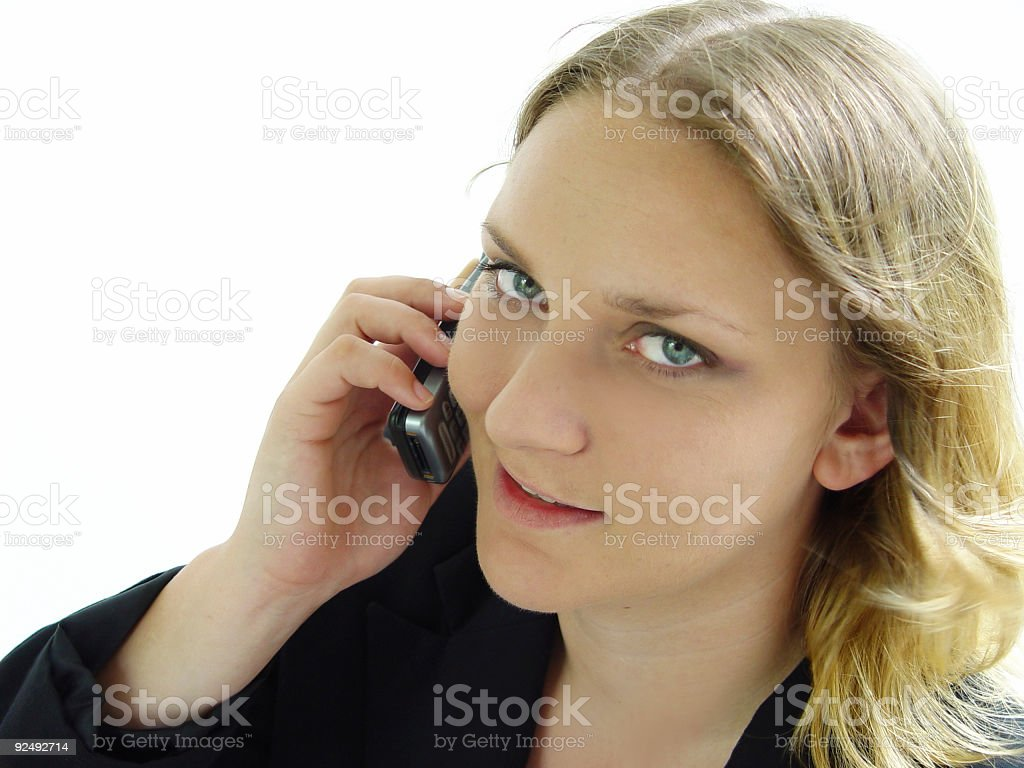 business - good conversation royalty-free stock photo