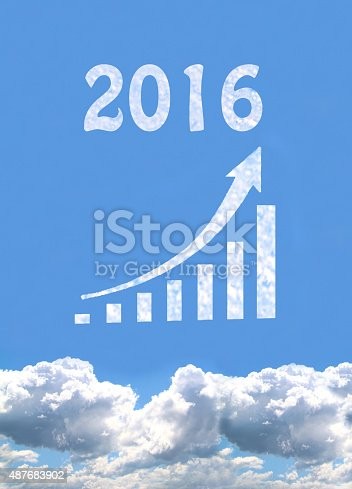 istock Business Graph, 2016 487683902