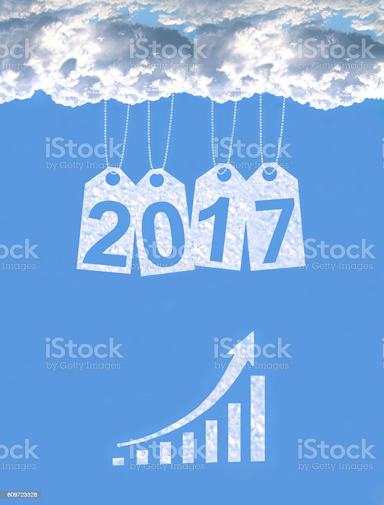 Business Graph, 2017 stock photo