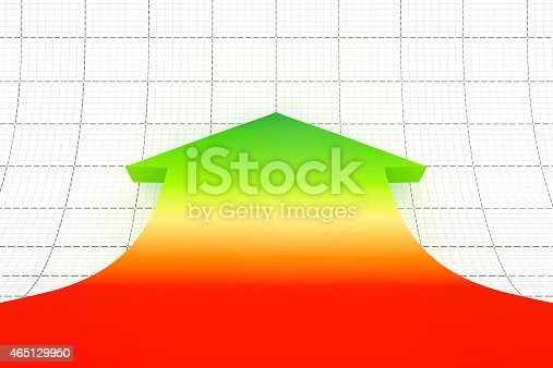 486678786 istock photo Business graph and chart. 465129950