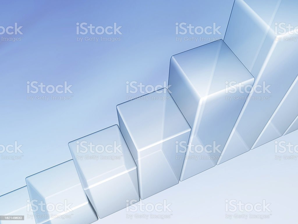 Business Graph Chart royalty-free stock photo