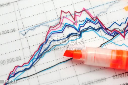 611868428 istock photo Business Graph Chart-Growth Concept-Business Finance Success 168337586