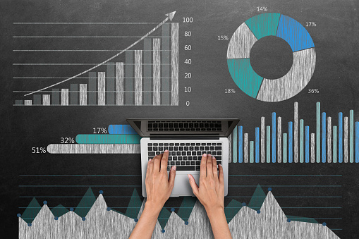 istock Business graph concept 517703860