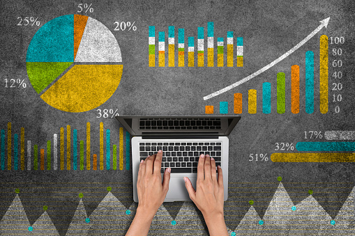 istock Business graph concept 800523294