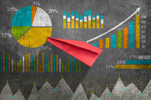 istock Business graph concept 801117208