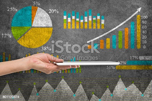 517703860istockphoto Business graph concept 801120374